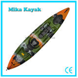 Plastic Ocean Pedal Boat Fishing Sit on Top Kayak with Rudder