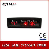 "[Ganxin]1.8 "" 9 Digital Mini Wall World Time LED Timer with Words ""Days, Hrs"""