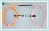 1*2 Single Mode Fiber Coupler with No Connector (pink)