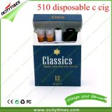 Factory Price 510 Cartridge Real Cigarette Pack 510 Disposable E Cig