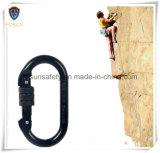 Quick Black Screwgate Safety Carabiner