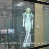 Holographic Transparent Projector Film for Shop Window
