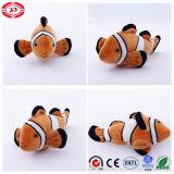Orange CE Clown Cover and Stuffed Plush Kids Fish Toy