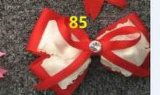 Bowknot Fashion Decorative Metal Silver Hairpins for Children 85
