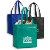 Colorful Stylish Cheap Promotional Shopping Bag Pouch Tote Handbag