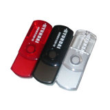 Transparent Swivel Plastic USB Flash Disk (YT-1105)