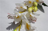 Green Environmental Protection White Flower Bunch for Indoor Decoration