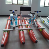 Price Aquatic Playing PVC Inflatable Pedal Bicycle Water Bike for Sale