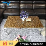 Living Room Furniture Marble Table Coffee Metal Tables