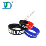 New Arrival Customized Embossed Logo Printed Silicone Wristband
