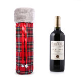 Christmas Wine Gift Bags Cotton Fabrici Bags Wholesale