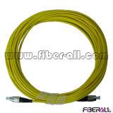 Simplex 3.0mm Fiber Optic Jumper FC PC to FC PC