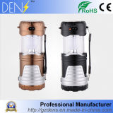 6 LED Rechargeable Hand Collapsible Camping Lantern Solar Light