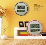 Digital Wall Clock LED Display with Temp and Calendar