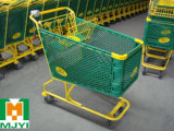 Plastic Supermarket Convenient Retail Shopping Trolley