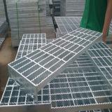 Hot Dipped Galvanized Mild Steel Bar Grating Stair Tread