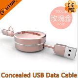 New Two in One USB Charging Cable for Mobilephone and iPad