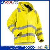 Heavy Weight Windbreaker Waterproof Reflective Hi Vis Rain Jacket (YFG114)