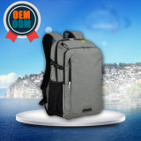 OEM University Student Genuine Leather Handle Double Shoulder Laptop Backpack