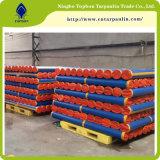 Blue/Orange Reinforced PE Tarpaulin Roll Tbn305