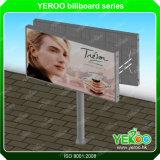 Double Sided V-Shaped Steel Unipole Billboard
