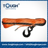 Orange12.5mmx30m4X4 Synthetic Winch Rope Tough Rope 100% Uhwmpe Fiber