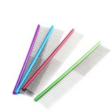 Colorful Stainless Steel Pet Comb