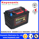 12V 90ah Car Battery Mf Lead Acid Battery Color Carton