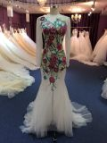 Mermaid Evening Dress for Wedding with Appliques