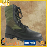Top Grain Leather Cheap Jungel Military Boots