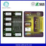 High Quality Wholesale Die Cut PVC Card