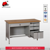Office Computer Computer School Office Metal Computer Table with Drawers