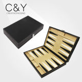 PU Leather Cover Large Backgammon Set