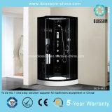 Black Finished Aluminum Frame Steam Complete Shower Room (BLS-9833)