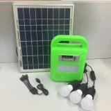 New Design Solar Home LED Lighting System Kits with FM Radio SD Player MP3