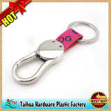 Hot Custom Leather Keychain with Metal (TH-05064)