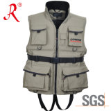Technical Fishing Vest with Ce Certificate (QF-1902)