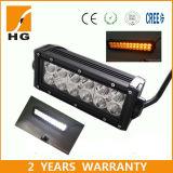 Two-Coloured LED Light Bar 7.5′′ LED Driving Light