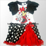 Summer Girls Party Dress Beautiful Children Clothing (JT-A024)
