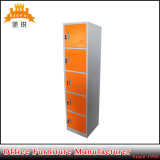 Colorful 5 Door Tier Golf Gym Beach Steel Cabinet for Clothing Swimming Pool Changing Room Storage Locker