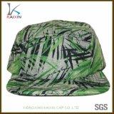 Custom Plain Blank Screen Printing Green 5 Panel Camper Hat