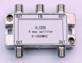 5-1000MHz 4way CATV Splitter (SHJ-A104S)