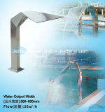 Outdoor Swimming Pool Water Screen Lap SPA