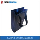 Blue Paper Bag Shopping Bag Packaging Bag