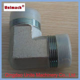 Stainless Steel Hydraulic Fitting with BSPT Male/BSPT Female