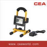 10W Rechargeable LED Flood Light with CE&RoHS