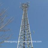 3-Legged Steel Tube Communication Lattice Tower