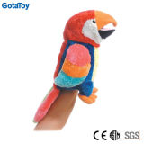 Custom Plush Bird Hand Puppet Stuffed Bird Soft Toy