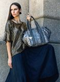 Hot Selling Beauty Shinny Sequin Designer Handbag (FE9141)