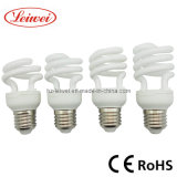 T2 7W, 9W, 11W, 15W Half Spiral Energy Saving Lamp
